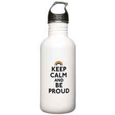 Keep Calm and Be Proud Water Bottle