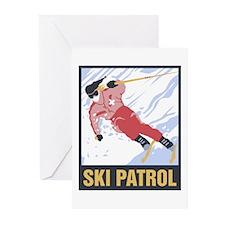 Ski Patrol Greeting Cards (Pk of 10)