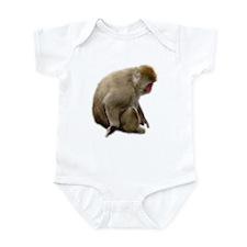 snow monkey Infant Bodysuit