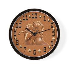 Western Theme Clock Wall Clock