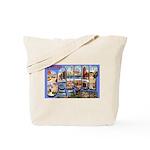 Bangor Maine Greetings Tote Bag