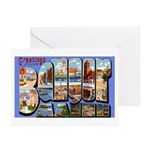 Bangor Maine Greetings Greeting Cards (Package of