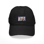 Bangor Maine Greetings Black Cap