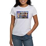 Bangor Maine Greetings (Front) Women's T-Shirt