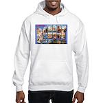 Bangor Maine Greetings Hooded Sweatshirt