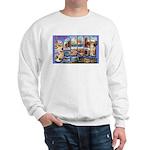 Bangor Maine Greetings Sweatshirt