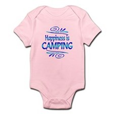 Happiness is Camping Infant Bodysuit