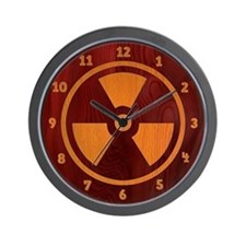 Rad Wood Wall Clock