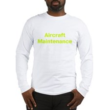 Aircraft mechanic Long Sleeve T-Shirt
