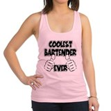 Coolest Bartender Ever Racerback Tank Top