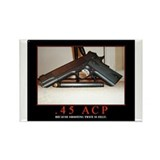 .45 ACP Rectangle Magnet (10 pack)