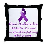 Fighting For My Aunt Chiari Malformation Throw Pil