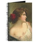 Victorian Woman Romantic Art Journal