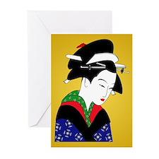 Geisha Girl Greeting Cards (Pk of 20)