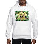 Chicks For Christmas! Hooded Sweatshirt