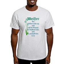 Proverbs 31:28 Flower T-Shirt