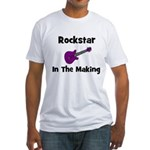 Rockstar In The Making Fitted T-Shirt