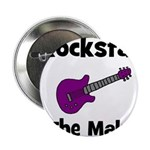Rockstar In The Making Button