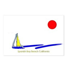 Spanish Bay Postcards (Package of 8)