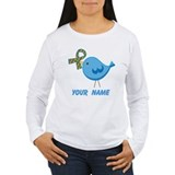 Personalized Autism Bird T-Shirt