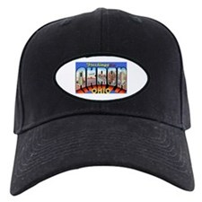 Akron Ohio Greetings Baseball Hat