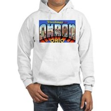 Akron Ohio Greetings Hoodie