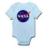 NASA Meatball Logo Onesie