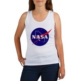 NASA Meatball Logo Women's Tank Top