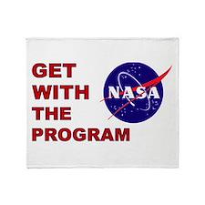Program Logo Throw Blanket