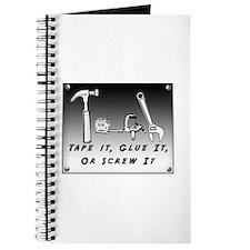 Journal - Tape it, Glue it, or Screw it!