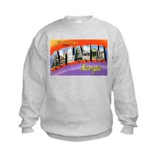 Atlanta Georgia Greetings (Front) Sweatshirt