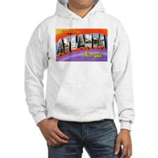 Atlanta Georgia Greetings (Front) Hoodie