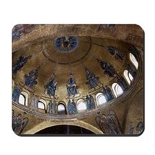 ascension dome in st. mark's basilica Mousepad