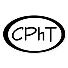 CPhT Oval Bumper Stickers