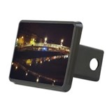 Ha'Penney Bridge at Night, Rectangular Hitch Cover
