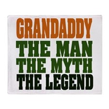 Grandaddy The Legend Throw Blanket