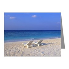 Beach Chair Note Cards (Pk of 20)