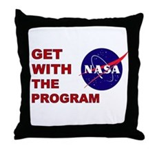 Get With The Program Throw Pillow