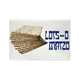 Lots-o Matzo Rectangle Magnet