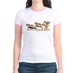 Running of the Bulls! Jr. Ringer T-Shirt