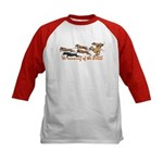 Running of the Bulls! Kids Baseball Jersey