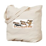 Running of the Bulls! Tote Bag
