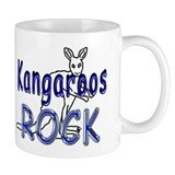 Kangaroos Rock Coffee Mug