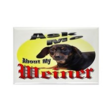 Dachshund Rectangle Magnet (100 pack)