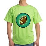 Football 2 Green T-Shirt