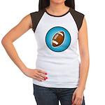 Football 2 Women's Cap Sleeve T-Shirt