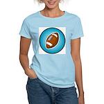 Football 2 Women's Pink T-Shirt