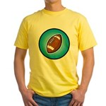 Football 2 Yellow T-Shirt