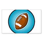 Football 2 Rectangle Sticker