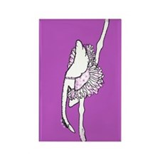 Birdie Ballet Rectangle Magnet